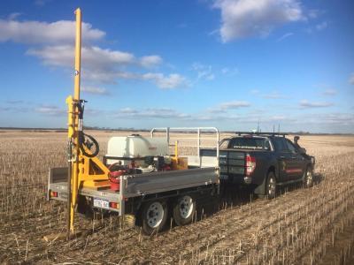 Soil Sampling ECTA Christies